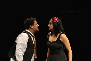 M H espectaculo CLOWN con los actores Abril Mallet y Juan Carlos Medellín 1