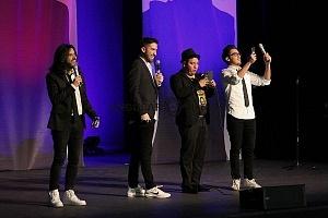 stand up show de comedia de Pipa y Guante