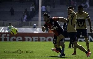 Pumas 3 - Atlas 1 en la jornada 2 del torneo clausura 2018