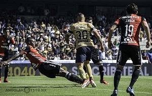 Pumas derrota al Atlas 3-1 en la jornada 2 del torneo de clausura 2018