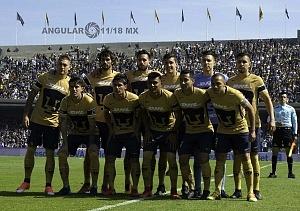 equipo titular de los Pumas en la jornada 2 del torneo de clausura  2018