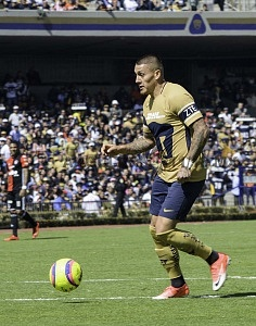 Nicolas Castillo en la Jornada 2 del Torneo de Clausura 2018