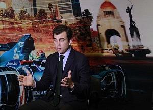 Co fundador de la Formula Eléctrica y Director General Alberto Longo en entrevista ciudad de México