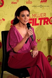 Conferencia de Prensa de la pelicula Una Mujer Sin Filtro actriz Fernanda Castillo 4
