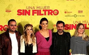 Conferencia de Prensa de la pelicula Una Mujer Sin Filtro elenco 2