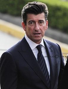 Director del Hipodromo Sergio Alamán en el Inicio de la temporada 75 del Hipódromo de las Américas 2018