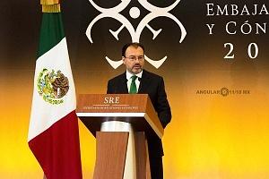 Doctor Luis Videgaray Caso en la XXIX Reunión de Embajadores y Cónsules 2018 (3)