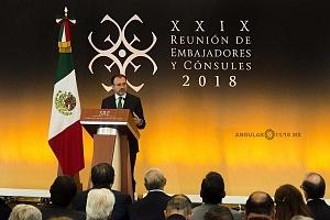 Doctor Luis Videgaray Caso en la XXIX Reunión de Embajadores y Cónsules 2018 (5)