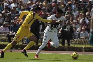 Jesús Gallardo delantero de los Pumas en la jornada 3 del torneo de clausura 2018 (1)