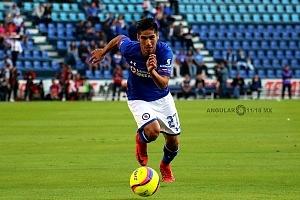 Jorge Benitez delantero de Cruz Azul jornada 1 torneo de Clausura 2018