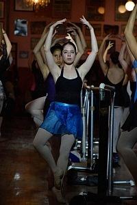 Participantes de Baila por México con Elisa Carillo