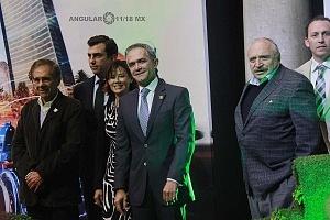 Presentación del Gran Premio de Fórmula Eléctrica 2018 con Autoridades de la ciudad de México y Organizadores