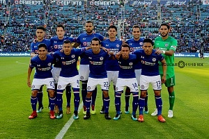 cuadro titular de la Maquina del Cruz Azul en la Jornada 1 del torneo Clausura 2018