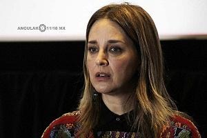 Claudia Ramires Actriz en el Lanzamiento de Convocatorias 2018 del Shorts México, Festival Internacional de Cortometrajes (1)