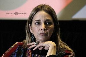 Claudia Ramires Actriz en el Lanzamiento de Convocatorias 2018 del Shorts México, Festival Internacional de Cortometrajes (2)