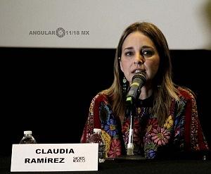 Claudia Ramires Actriz en el Lanzamiento de Convocatorias 2018 del Shorts México, Festival Internacional de Cortometrajes (5)