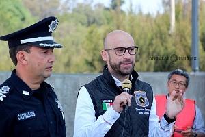 Comienza la Campaña de detención y sanción de vehículos contaminantes 2018 autoridades iauguran el programa en la caseta México Cuernavaca 1