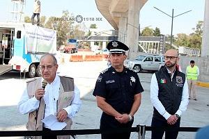 Comienza la Campaña de detención y sanción de vehículos contaminantes 2018 autoridades iauguran el programa en la caseta México Cuernavaca