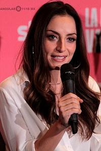 Marimar Vega elenco de la pelicula La Boda de Valentina en conferencia de prensa 1