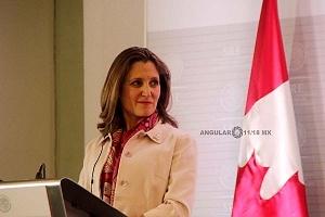 Ministra de Relaciones Exteriores de Canadá, CrhystiaFreeland