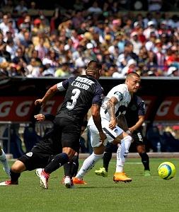 Nicolás Castillo delantero de Pumas en la jornada 9 del clausura 2018 (1)
