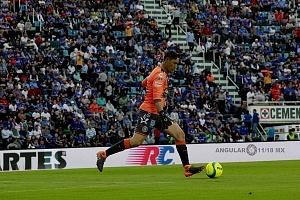 Portero del Puebla Moises Muños jornada 8 torneo de clausura 2018