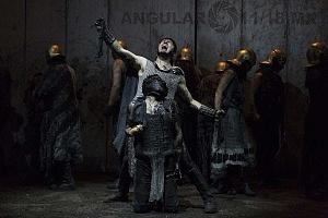 Reestreno de la obra Numancia de Miguel de Cervantes Saavedra en el teatro Julio Castillo 3