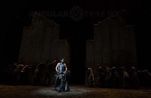 Reestreno de la obra Numancia de Miguel de Cervantes Saavedra en el teatro Julio Castillo 5