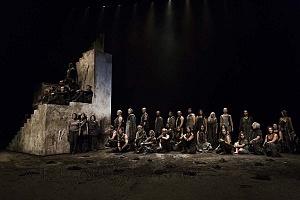 Reestreno de la obra Numancia de Miguel de Cervantes Saavedra en el teatro Julio Castillo 7