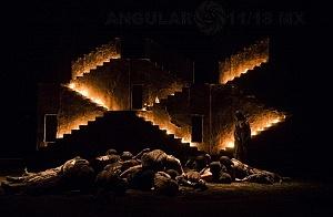 Reestreno de la obra Numancia de Miguel de Cervantes Saavedra en el teatro Julio Castillo 8