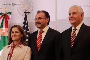 Reunión de Ministros de Relaciones Exteriores de Améica del Norte 1