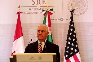 Secretario de Estado de Estados Unidos, Rex Tillerson