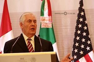 Secretario de Estado de Estados Unidos, Rex Tillerson en México 2