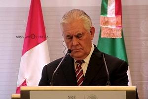 Secretario de Estado de Estados Unidos, Rex Tillerson en México