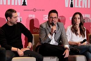 elenco de la pelicula La Boda de Valentina en conferencia de prensa 1