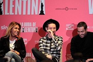 elenco de la pelicula La Boda de Valentina en conferencia de prensa 3
