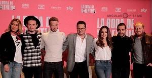 elenco de la pelicula La Boda de Valentina en conferencia de prensa