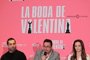 elenco de la pelicula La Boda de Valentina en conferencia de prensa 5