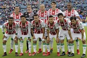 equipo titular del Necaxa en la jornada 6 del clausura 2018