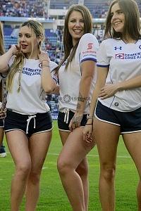 porristas del Cruz Azul en la jornada 8 del torneo clausura 2018 (2)