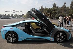 presentación del Safety Car BMW i8 que estara presnte en el gran premio de Fórmula e de la Ciudad de México 1