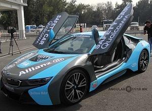 presentación del Safety Car BMW i8 que estara presnte en el gran premio de Fórmula e de la Ciudad de México