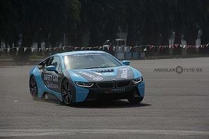 presentación del Safety Car BMW i8 que estara presnte en el gran premio de Fórmula e de la Ciudad de México Exhibición 1