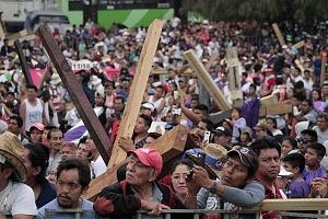 175 Representación de la Psión de Cristo en Iztapalapa segun cifras de la organización esta edición tuvo una asitencia aproximada de 2 millones de asistentes VI