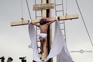 175 representación de la Psión de Cristo en Iztapalapa Inicio del Viacrucis Jesus Crusificado