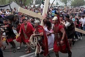 175 representación de la Psión de Cristo en Iztapalapa Inicio del Viacrucis RC