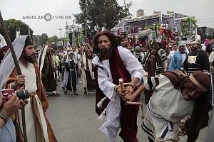 175 representación de la Psión de Cristo en Iztapalapa Inicio del Viacrucis REP