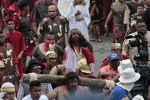 175 representación de la Psión de Cristo en Iztapalapa Inicio del Viacrucis recorrido