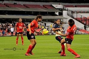 América derrota al Tijuana 3-0 en la Liga Femenil de la Jornada 12