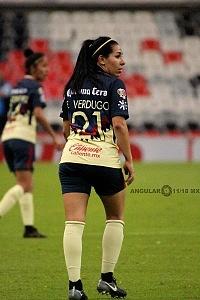 América derrota al Tijuana 3-0 en la Liga Femenil de la Jornada 12 jugadora Verdugo